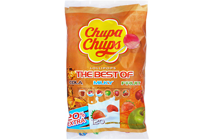 Best of Chupa Chups Lollipops (120 ct)