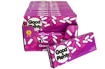 Good & Plenty (Box of 24)