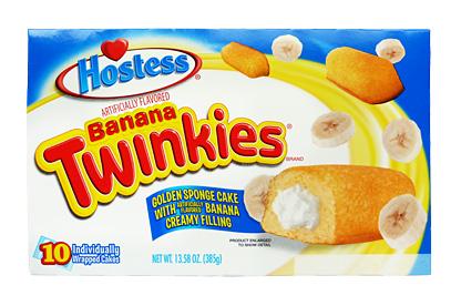 Hostess Banana Twinkies (Box of 10)