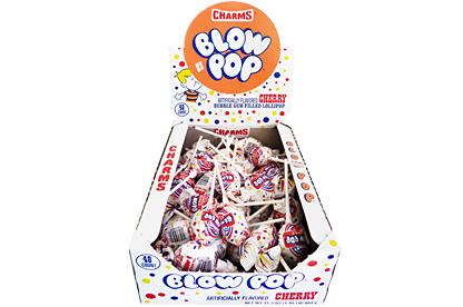 Cherry Blow Pops (Box of 48)
