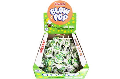 Sour Apple Blow Pops (Box of 48)