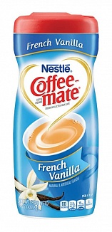 Coffee-Mate French Vanilla Coffee Creamer (6 x 425g)
