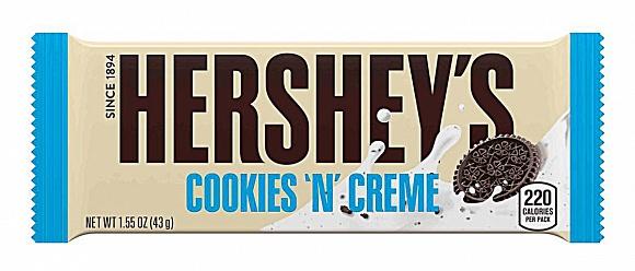 Hershey's Cookies 'n' Creme (8 x 36 x 43g)