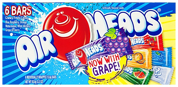 Airheads 6 Flavour Selection Box (Case of 12)