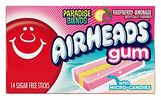 Airheads Gum Raspberry Lemonade (12 x 12 x 34g)