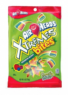 Airheads Xtremes Bites Rainbow Berry (12 x 170g)