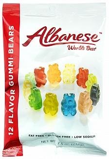 Albanese 12 Flavour Gummi Bears (212g)