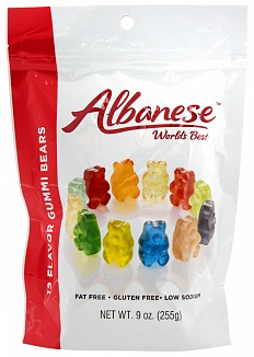 Albanese 12 Flavour Gummi Bears (255g) (Case of 6)