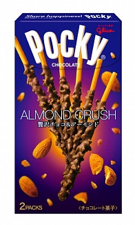 Almond Crush Chocolate Pocky Double Pack (10 x 46g)