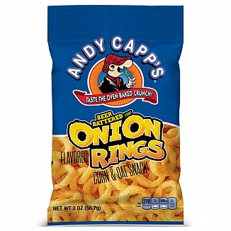 Andy Capp's Beer Battered Onion Rings (12 x 57g)