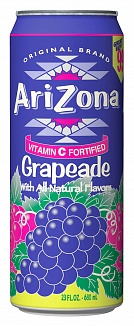 Arizona Grapeade (680ml) (Case of 24)
