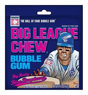 Big League Chew Bubble Gum Blue Raspberry (12 x 60g)