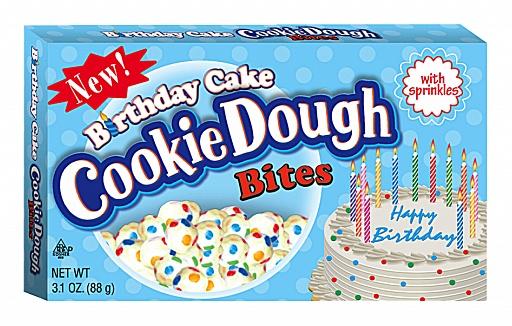Birthday Cake Cookie Dough Bites (Box of 12)