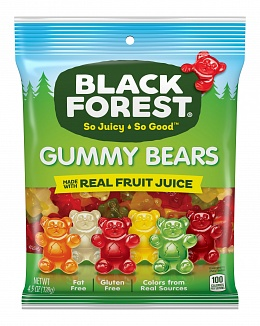 Black Forest Gummy Bears (12 x 128g)