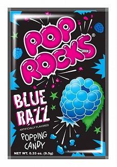 Blue Razz Pop Rocks