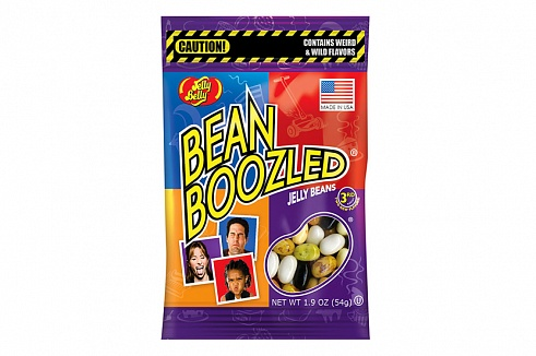 Jelly Belly Bean Boozled - 16 flavours (54g bag) (Box of 12)