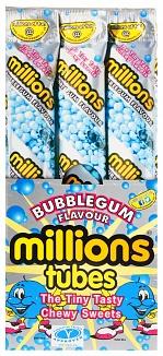 Bubblegum Millions Tubes 60g (Box of 12)