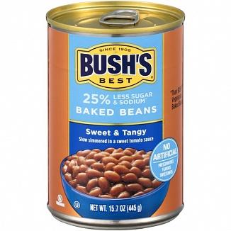 Bush's Best Baked Beans Sweet & Tangy (12 x 445g)