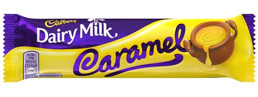 Cadbury Dairy Milk Caramel (Box of 48)