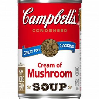Campbell's Condensed Soup Cream of Mushroom (48 x 298g)