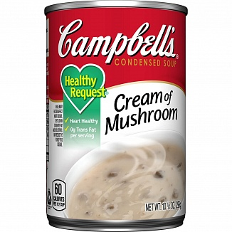 Campbell's Condensed Soup Healthy Request Cream of Mushroom (12 x 298g)