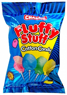 Charms Fluffy Stuff Candy Floss (71g) (Case of 24)