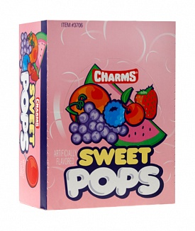 Charms Sweet Pops (Box of 100)