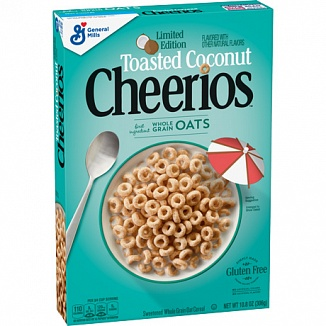 Cheerios Toasted Coconut (12 x 306g)