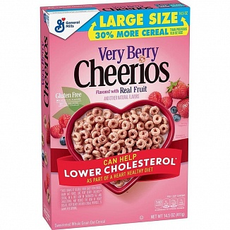 Cheerios Very Berry Large Size (8 x 411g)