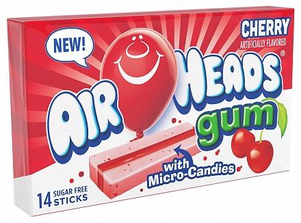 Cherry Airheads Gum (12 x 34g)