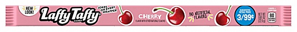 Cherry Laffy Taffy Rope (Box of 24)