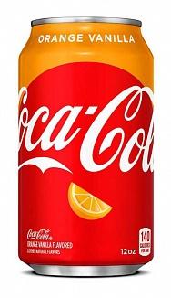 Coca-Cola Orange Vanilla (12 x 355ml)
