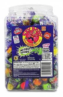 Cry Baby Nitro Sours Bubble Gum 200 Pieces (8 x 1.48kg)