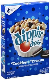 Dippin' Dots Cereal Cookies & Cream (12 x 283g)