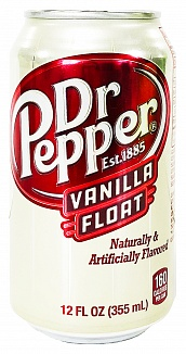 Dr Pepper Vanilla Float (355ml)