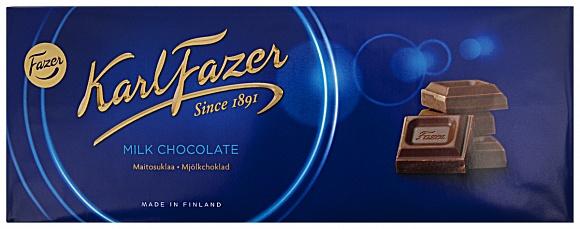 "Fazer ""Blue"" Milk Chocolate (200g)"