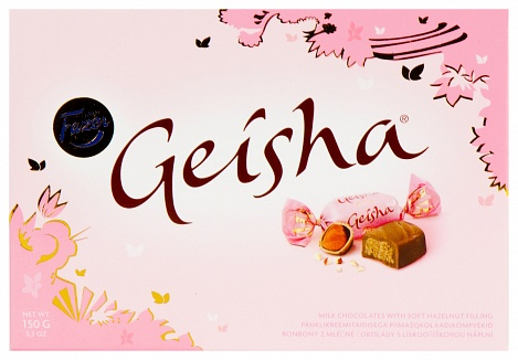 Geisha Soft Hazelnut Chocolates (150g)