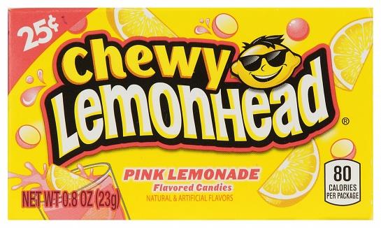 Chewy Lemonhead Pink Lemonade (23g) (Box of 24)
