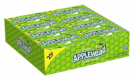 Applehead Candy (23g) (Box of 24)