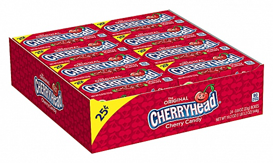 Cherryhead Candy (23g) (Box of 24)