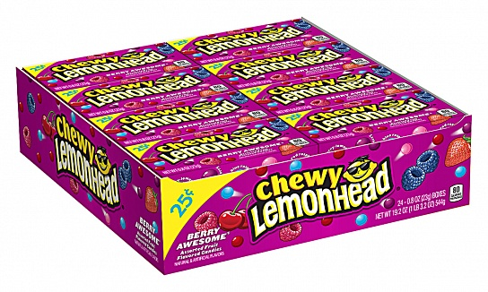 Chewy Lemonhead Berry Awesome (23g) (Box of 24)