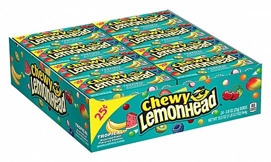 Chewy Lemonhead Tropical (23g) (Box of 24)