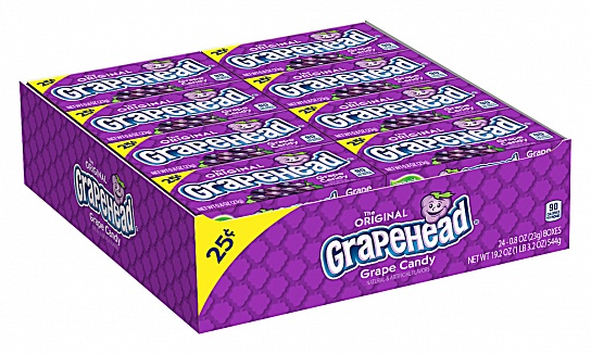 Grapehead Candy (23g) (Box of 24)