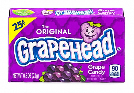 Grapehead Candy (23g) (12 x 24ct)