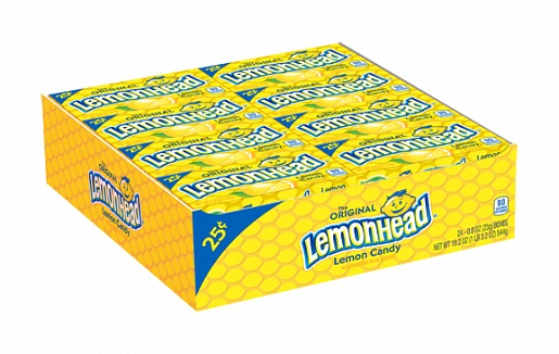 Lemonhead Candy (23g) (Box of 24)