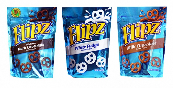Flipz Chocolate Trio