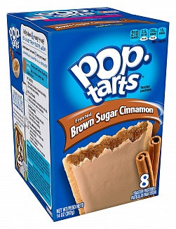 Frosted Brown Sugar Cinnamon Pop-Tarts (12 x 8 pastries)
