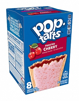 Frosted Cherry Pop-Tarts (12 x 8 pastries)