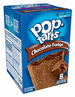 Frosted Chocolate Fudge Pop-Tarts