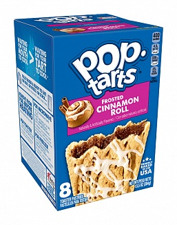 Frosted Cinnamon Roll Pop-Tarts
